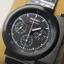 Seiko Steel 40mm Black
