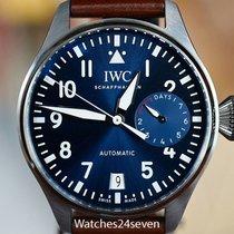 IWC Big Pilot Steel 20mm Arabic numerals