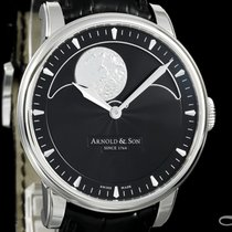 Arnold & Son HM Perpetual Moon Steel 42mm Black