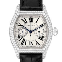 Cartier Tortue White gold 34mm Silver Roman numerals United States of America, Georgia, Atlanta