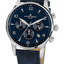 Jacques Lemans Classic London Steel 40mm Blue