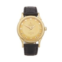 Omega Yellow gold 34mm Manual winding Constellation pre-owned