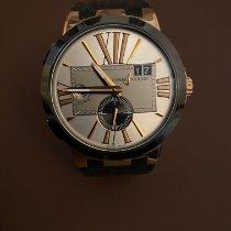 Ulysse Nardin Executive Dual Time 246-00-3/421 Foarte bună Aur roz 43mm Atomat România, Oradea