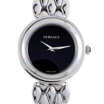 Versace Steel 28mm Quartz VEBN00618 new