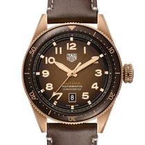 TAG Heuer Bronze Automatic Brown Arabic numerals 42mm new Autavia