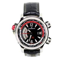 Jaeger-LeCoultre Master Compressor Extreme W-Alarm Acero 46mm Negro Árabes