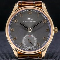 IWC Portuguese Hand-Wound IW545406 2013 pre-owned