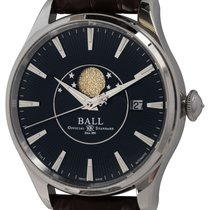 Ball Trainmaster Acero 40mm Negro