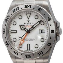 Rolex Explorer II 216570 2019 pre-owned