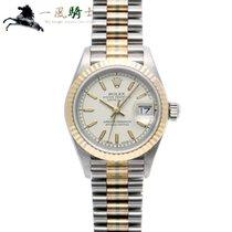 Rolex 69179BIC Or blanc Lady-Datejust 26mm occasion