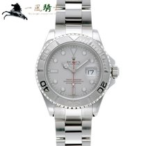 Rolex Steel Automatic Grey 40mm pre-owned Yacht-Master 40