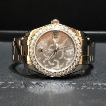 Rolex Pearlmaster White gold 34mm Silver (solid) Roman numerals