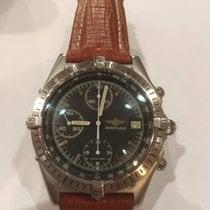Breitling Chronomat Acciaio 39mm Nero Arabi Italia, Bologna