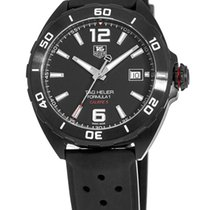 TAG Heuer Formula 1 Calibre 5 Steel 41mm Black United States of America, New York, Brooklyn