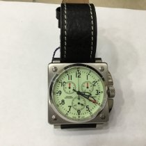Revue Thommen Airspeed Instruments new Quartz Chronograph Watch with original box and original papers 16576.9/100