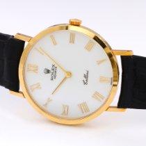 Rolex Cellini Yellow gold 32mm White Roman numerals
