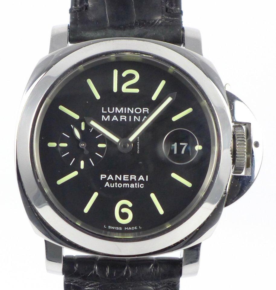 Panerai Luminor Marina Automatic PAM 00104 2005 подержанные