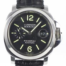 Panerai Luminor Marina Automatic Stål 44mm Svart Arabisk
