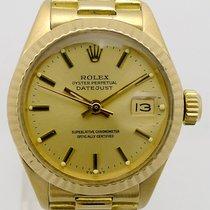 Rolex Lady-Datejust Gelbgold 26mm Champagnerfarben Keine Ziffern Deutschland, Berlin