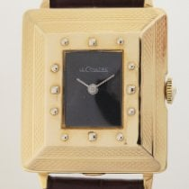 Jaeger-LeCoultre Yellow gold Manual winding lecoultre pre-owned