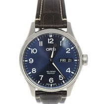Oris Big Crown ProPilot Day Date Steel 45mm Blue Arabic numerals United States of America, New York, New York