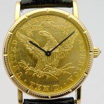 Corum Yellow gold Manual winding Corum 10 Dollar pre-owned
