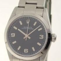 Rolex Oyster Perpetual 31 Acero 31mm Negro Árabes