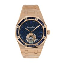 Audemars Piguet Royal Oak Tourbillon Rose gold 41mm Black