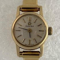 Omega Yellow gold 17mm Manual winding Omega 9K Solid Gold Vintage Ladies pre-owned United States of America, California, Woodland Hills. We accept cryptocurrency