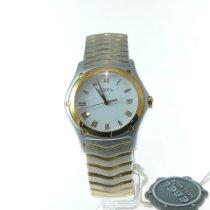 Ebel 1187F41 Gold/Steel 2002 Classic 37mm new