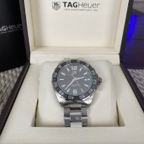 TAG Heuer Formula 1 Calibre 5 Steel 43mm Grey Arabic numerals United States of America, Florida, Davenport