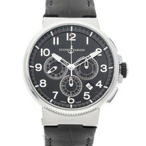 Ulysse Nardin Marine Chronograph Steel 43mm Black Arabic numerals United States of America, Ohio, Westerville