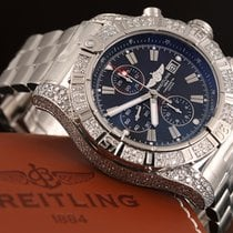 Breitling Super Avenger Steel 48MMmm Black No numerals United States of America, New York, New York