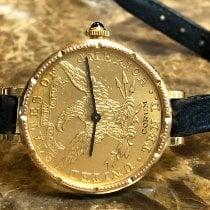 Corum Coin Watch Corum 10 Dollar Gold Coin Mechanical Wind 22k Gold Liberty 2000 occasion