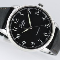 Glashütte Original Senator Excellence Steel 40mm Black Arabic numerals