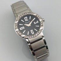 Piaget Weißgold 28mm Quarz Piaget Polo Ladies 18k White Gold Diamond P10140 Wristwatch gebraucht