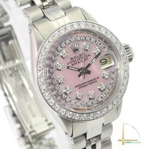 Rolex Datejust Gold/Steel 26mm Pink No numerals United States of America, California, Los Angeles