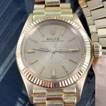 Rolex Oyster Perpetual Rolex lady in oro ref. 6619 1960 usados
