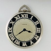 Tiffany Platinum 42mm Manual winding Tiffany & Co. Platinum Open Face Pocket Watch Diamond Onyx pre-owned United States of America, California, Woodland Hills. We accept cryptocurrency