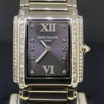 Patek Philippe Белое золото Кварцевые Cерый Римские 25mm подержанные Twenty~4