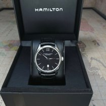 Hamilton Jazzmaster Slim Acier 40mm Noir