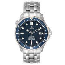 Omega Seamaster Diver 300 M Acél 41mm Kék