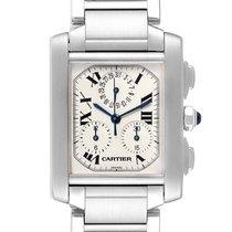 Cartier begagnad Kvarts 37mm Vit Safirglas