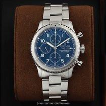 Breitling Navitimer 8 occasion 43mm Bleu Chronographe Date Affichage des années Acier
