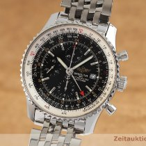 Breitling Navitimer World Zeljezo 46mm Crn