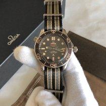 Omega Seamaster Diver 300 M Titanium 42mm Brown No numerals Australia, Canberra