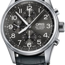 Oris Big Crown ProPilot Chronograph Steel 44mm Grey Arabic numerals United States of America, California, Moorpark