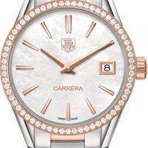 TAG Heuer Carrera Lady new Quartz Watch with original box WAR1353-BD0779