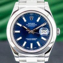 Rolex Datejust II Steel 41mm Blue Arabic numerals United States of America, Massachusetts, Boston