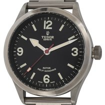 Tudor Heritage Ranger Steel 41mm Black Arabic numerals United States of America, Texas, Austin